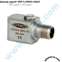 CTC-PRO Velocity Sensor With 4 to 20 mA Out Put Type : LP204-1R1-1D